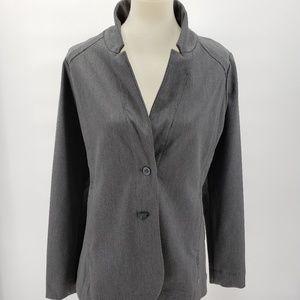 Eddie Bauer Jackets & Coats - Eddie Bauer Gray Blazer Tall 10